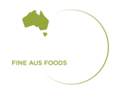 Bridge Fine Aus Foods logo reversed