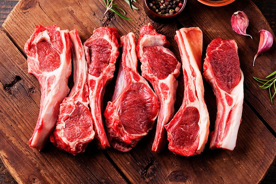 Quality Australian raw lamb ribs